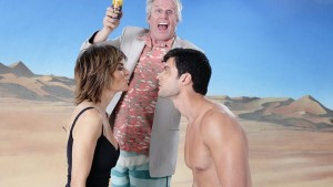 Gary Busey saves the day, but loses the competition
