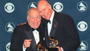 Mel Brooks and Carol Reiner on Comedyfest on Twitter