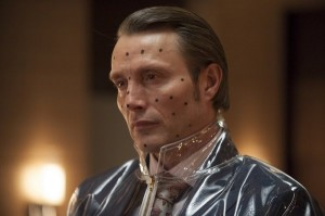 "What's wrong with Hannibal? HANNIBAL -- ""Buffet Froid"" Episode 110 -- Pictured: Mads Mikkelsen as Dr. Hannibal Lecter -- (Photo by: Brooke Palmer/NBC)"