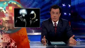 Steven Colbert showed fans that he had big celebs on his side and didn't need Daft Punk