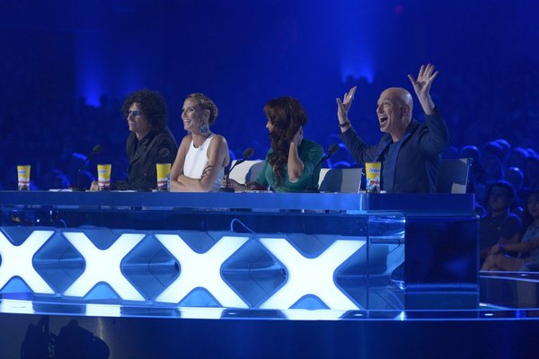 America's got talent judges argue over the votes.