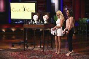 Kookin Cap on Shark Tank Don't let hair smell like crap, get cooking cap