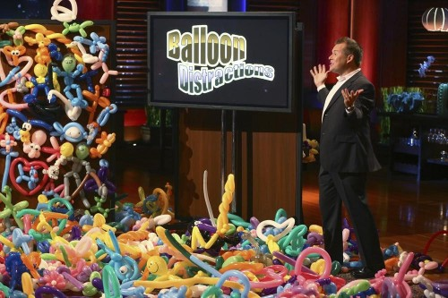 Balloon Distractions Ben Allen Balloon animals on Shark Tank